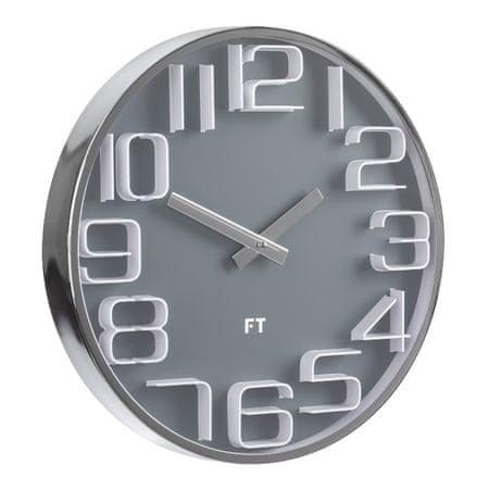 Future Time elegantnan zidni sat Numbers FT7010GY, 30 cm