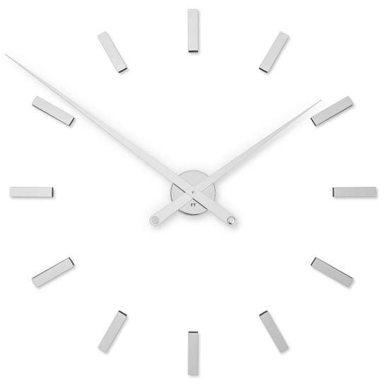 Future Time Designové nalepovací hodiny FT9100 85 cm, chrom - použité