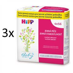 HiPP Babysanft Vlhčené ubrousky, 12x56ks