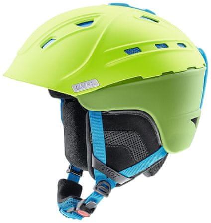 Uvex kask narciarski P2Us zielono-niebieski 51-55