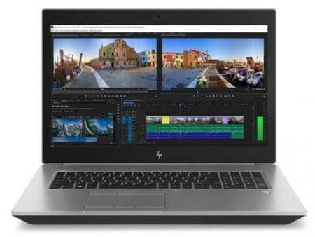 HP prenosnik ZBook 17 G5 i7-8850H/32GB/SSD512GB+1TB/P3200/17,3FHD/W10P (2XD26AV#70130023)