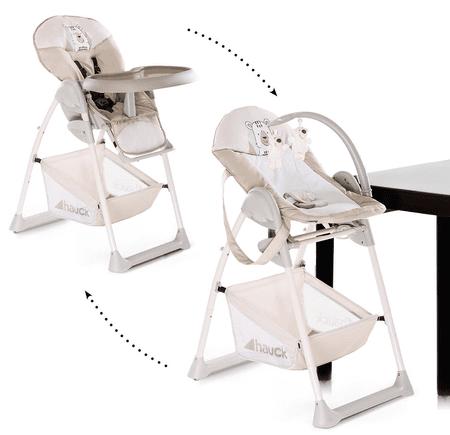 Hauck Sit´n Relax 2019 jedálenská stolička 2v1