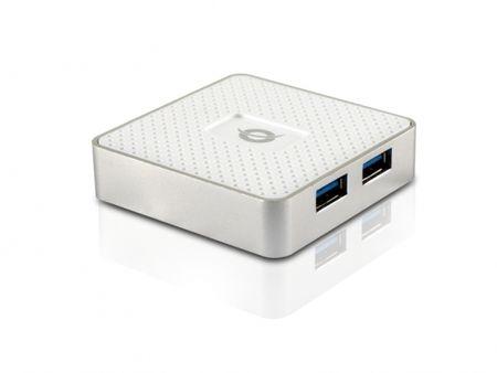 Conceptronic USB hub, 4 portni, USB 3.0