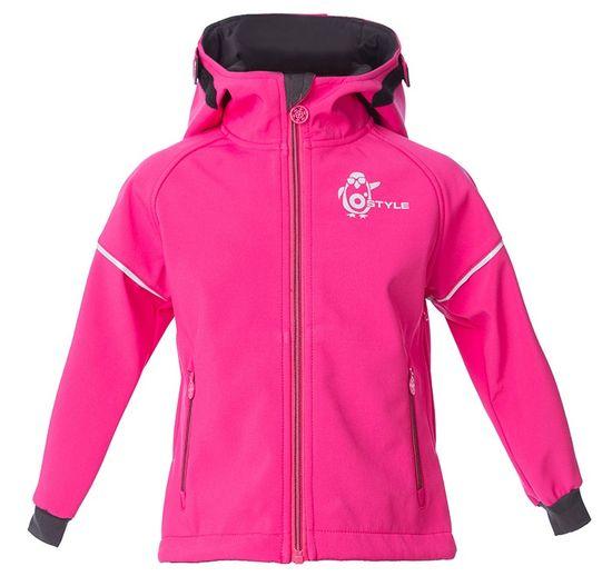O'Style dívčí softshellová bunda Ivon II 104 růžová