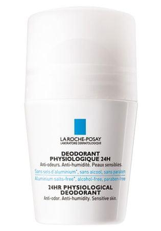 La Roche - Posay Fiziológiás golyós dezodor 24H (24HR Physiological Deodorant) 50 ml
