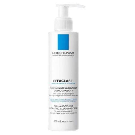 La Roche - Posay Effaclar H tisztító és bőrnyugtató krém (Cleansing Soothing Cream) 200 ml