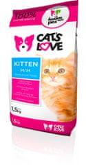 Dogs&Cats love Cats love Kitten 1,5kg