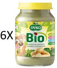 OVKO 6x BIO brokol + brambory PT - 190g