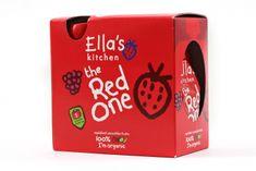 Ella's Kitchen Ovocné pyré - Red One (Jahoda) - 5 ks