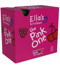 Ella's Kitchen Ovocné pyré - Pink One (Čerešňa) - 5 ks