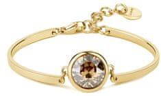 Brosway Jeklena zapestnica Zlata kristalna čakra BHK73