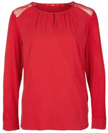 s.Oliver koszulka damska, 36, czerwona