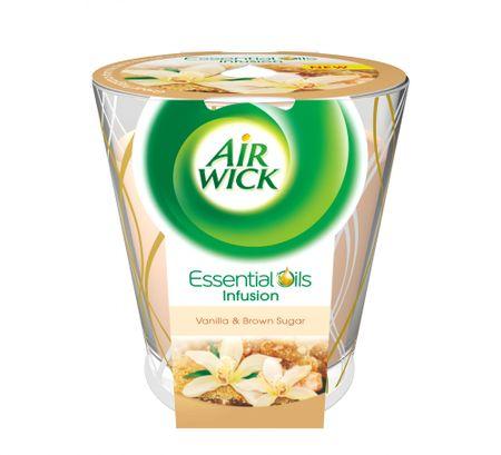 Air wick Essential Oils Infusion DECO svíčka - Vanilkové cukroví 150g