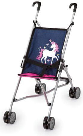 MaDe otroški voziček za lutke Unicorn