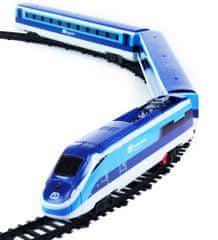 Rappa A Cseh vasút vonata hanggal és a fényekkel
