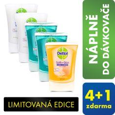 Dettol Érintésmentes szappanadagoló utántöltő 4+1