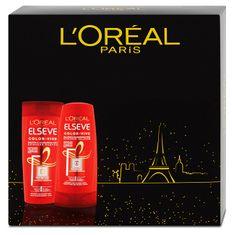 Loreal Paris Zestaw podarunkowy do włosów farbowanych Color -Vive