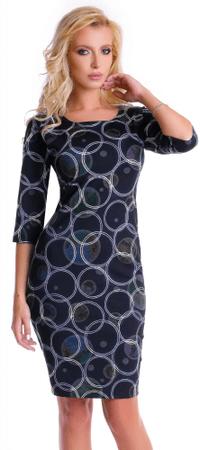 Natalee ženska haljina, tamno plava, S