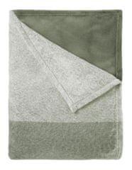 Mistral Home Baránková deka Flannel yarn Navy check 130x170 cm