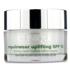 Clinique Repairwear Uplifting SPF 15 bőrfeszesítő éjszakai krém száraz bőrre (Firming Cream) 50 ml