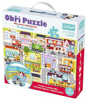 Trefl Puzzle obrie V mestečku 12ks
