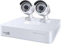 iGET HOMEGUARD HGDVK47702, 4-csatornás FHD DVR + 2x HGPLM828 kamera FHD1080p, IP66 (HGDVK47702)