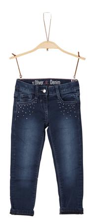 s.Oliver lány nadrág 110 kék
