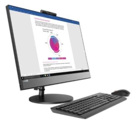 Lenovo AiO računalnik V530 i5-8400T/8GB/SSD256GB/23,8FHD/W10P (10UW000BZY)