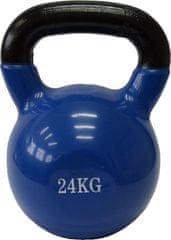 Fitmotiv uteg kettlebell, neopren, 24kg