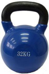 Fitmotiv uteg kettlebell, neopren, 32kg