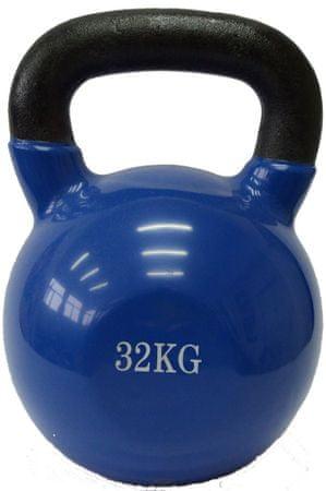 Fitmotiv utež kettlebell, neopren, 32kg