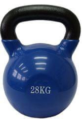 Fitmotiv uteg kettlebell, neopren, 28kg