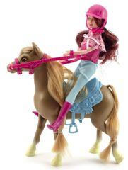 Teddies Kôň + bábika džokejka
