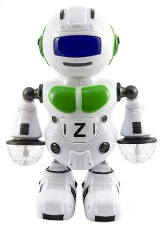 Teddies Robot tańczący 23 cm ze światłem i dźwiękiem