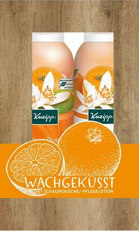 Kneipp Reggeli csók testápoló ajándékcsomag 2 x 200 ml