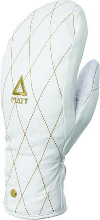 Matt damskie rękawice 3198 Nuria Gore Active Mittens, White, S