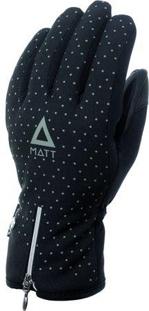 Matt ženske smučarske rokavice 3202 Girly Gloves Black, črne, S