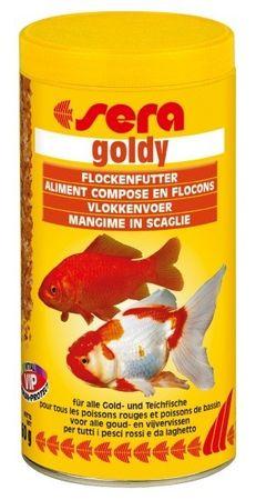 Sera Základní krmivo pro studenovodní ryby Goldy 250ml