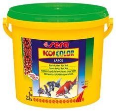 Sera Doplňkové krmivo pro Koi - podpora vybarvení ryb Koi Color Large 3000ml