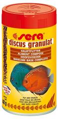 Sera Základní krmivo pro terčovce a jiné náročné ryby Discus Granulat 100ml