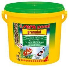 Sera Kompletní krmivo pro okrasné ryby v jezírku Pond Granulat 3000ml