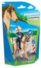 Playmobil policajac na konju 9260
