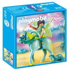 Playmobil vila s konjem, 9137
