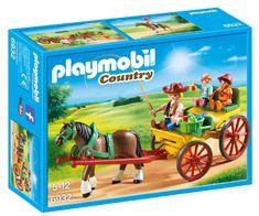 Playmobil kočija s konjskom zapregom 6932