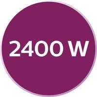 2400 W za brzo grijanje i snažan rad