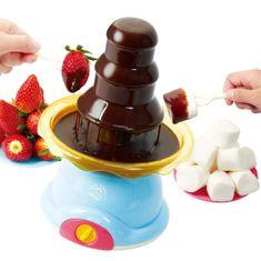 Teddies Csokoládé szökőkút/ Gyermek fondue készlet