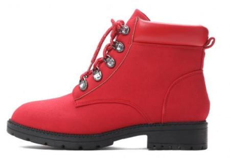 Vices dámská kotníčková obuv 40 červená