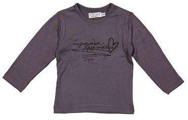 Dirkje dekliška majica s kristalčki, 98, vijolična