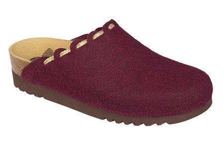 Scholl Egészségügyi cipő ELODIE női bordó (bor) (méret vel. 38)