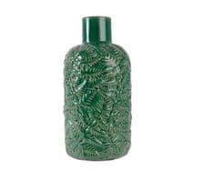 Kaemingk wazon z motywem liści, 15 x 29,5 cm